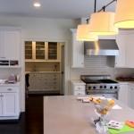 White Kitchen Cabinets in Weston, MA