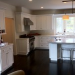 White Cabinet Refinishing in Weston, MA