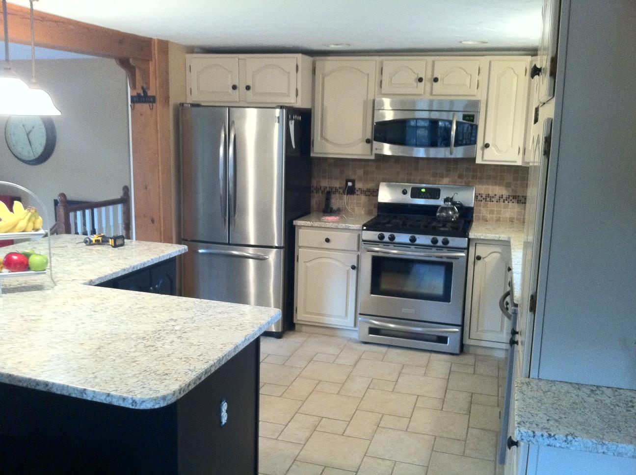 Kitchen cabinets rhode island - Cabinet Refacing In North Smithfield Rhode Island Kitchen