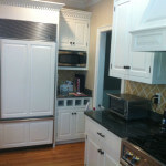 A refinished kitchen in Sudbury